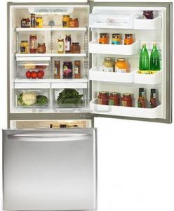 LG Bottom Mount Refrigerator LDN20718ST,   20 cu.f